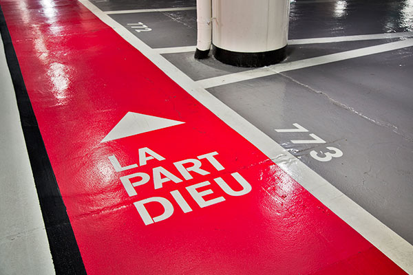 signalisation de parking
